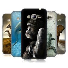HEAD CASE DESIGNS Wildlife Soft Gel Custodia per Samsung Galaxy J3