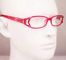 1010 Women Rhinestone Spring Hinge Reading Glasses CE Readers +1 +1.75 +2 +3 +4