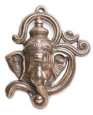 Laton ganesh OM en metal de 38 x 32 cm para colgar ideal decoración de paredes