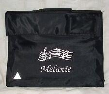 Personalised Music Bookbag Document School Book Bag