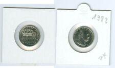 Monaco 1/2 franc 1982 rainier III. tampon brillance