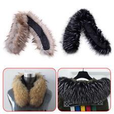 Fashion Winter Warm Faux Fur Scarf Jacquard Collar Shawl Wrap Neck Cap Scarves