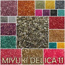 Delica 11/0 Miyuki DURACOAT Seed Beads #1801-1851
