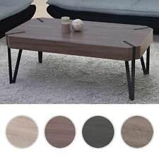 Tavolino da salotto Kos T573 legno pioppo rivestito 60x110x43cm D