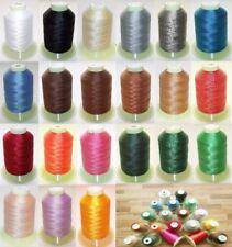 Nähgarn, Leder Garn,100% Polyester , Farbe auswahl , N30