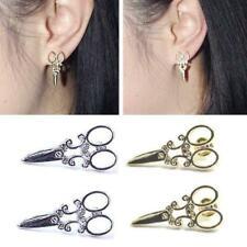 Gold or Silver Scissor Earrings Scissors Boho Jewellery Summer Festival A198