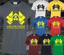 Nakatomi plaza Da Uomo T Shirt Top DIE HARD ispirato McLANE MOVIE FILM S-5XL