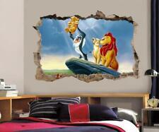 LION KING Simba Smashed Wall Decal Graphic Wall Sticker Decor Art Disney H384