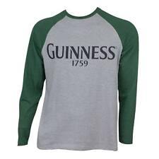 Guinness Baseball Tee Shirt Gray