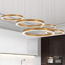 Ceiling Light Simple Modern Pendent Lamp Ring LED Novelty Circle Chandelier