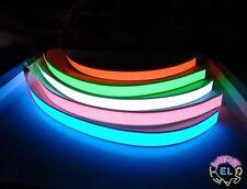 EL Nastro - 2 cm x 40 cm = 12 sterline ciascuno-NEON luminosi Striscia Barra multifunzione per TRON Costume