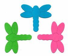 DRAGONFLY MINI 5x4.5cm die cut card making birthday insect pond fairy dragon