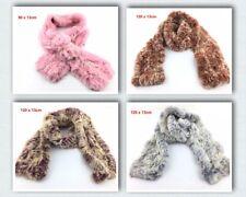 Warm  REAL Beaver rabbit hair knitted scarf Neck Warmer Wrap Collar Neck Shawl