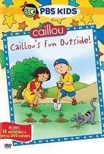 PBS Kids Caillou: Caillou's Fun Outside DVD