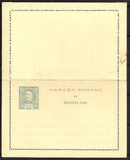 Portugal covers unused Cartao Postal