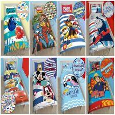 Boys Single Character Duvet Covers - Kids Bedding Cartoon Blue