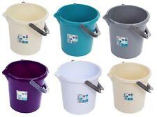 10L LITRI PLASTICA Secchio Pannolino Bambino Secchio Storage container per BARBECUE ABETE GIARDINO Bin