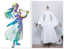 The Legend of Zelda: Skyward Sword Princess Zelda Goddess Cosplay Dress#HHL5