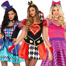 Alice In Wonderland Ladies Fancy Dress Leg Avenue Womens Fairytale Book Costumes