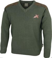 Jack Pyke Shooters Jumper Pheasant Hunting Sweater Pullover Cardigan Shooting