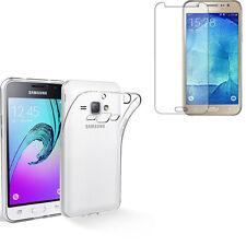 Pour Samsung Galaxy J3 ( 2016 ) SM-A310F - Pack Etui Coque Housse + verre trempé