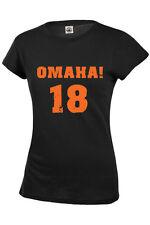 Omaha! Peyton Manning Denver 18 Women/Juniors T shirt S-2XL TOP SELLER