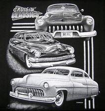 Merc Cruisin Classics t-shirt Hotrod Ford Chev v8