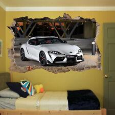 Fast Sport Car Supra Wall Sticker Transfer Art Mural Decal Poster Room Decor RS4