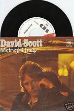 DAVID SCOTT Midnight Lady 45/GER/PIC/PROMO