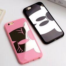 SPECCHIO Carino MICKEY/MINNIE in Silicone Cover Custodia iPhone 5/5s/se6/6s/6 Plus/6 Splus
