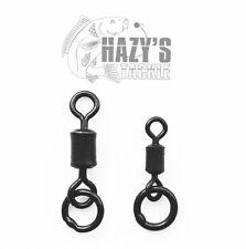 Flexi Ring Swivels Size 8 Ring Swivel Size 11 Matt Black Fishing Terminal Tackle