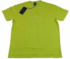 Armani Jeans Mens Yellow H/S Tshirt - Sz XXL & XXXL BNWT 100% Genuine