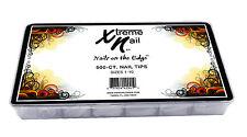 Xtreme Nail Tips Masterpack-FRENCH WHITE - 500pcs