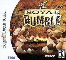 WWF Royal Rumble (Sega Dreamcast, 2000) * New * Factory Sealed *