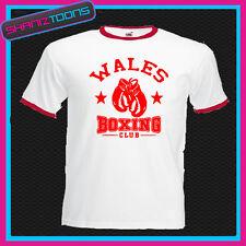 Gales Gales Boxing Club Boxer De Timbre Retro De Camiseta
