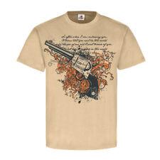 Mexican style la Catrina méxico fiesta vintage Gun t-shirt #24912