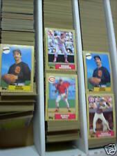 1987 - 1988 Topps Baseball pick 50 finnish your set