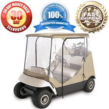 2 Passenger Driving Enclosure Golf Cart Cover Fit EZ Go,Club Car,Yamaha Cart New