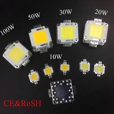 10W 20W 30W 50W 100W High Power Epistar COB LED Bead Warm/White Chip DC10V-32V