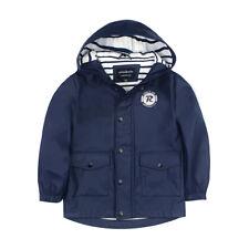 Boys' Lightweight Waterproof Hooded Rain Jacket Raincoat Windbreaker Outwear