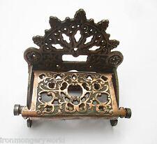 hierro fundido vintage ADORNO ANTIGUO Victoriana Estilo Antiguo portarrollos