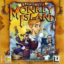 Fuga DA MONKEY ISLAND-Monkey Island 4-PC-in originale CDROM GUSCIO