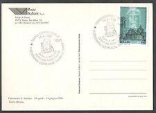 Cartolina 1998 Per Ostensione Sacra Sindone e 500 Anni Costruzione Duomo Torino