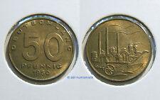 DDR 50 Pfennig 1950A *** Erhaltung zur Auswahl