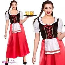 Moza de la Cerveza Bávara Señoras Adulto Disfraz de Oktoberfest