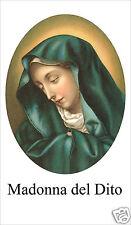 SANTINO HOLY CARD MADONNA DEL DITO