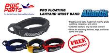 ATLANTIS PRO Floating Wrist Lanyard Band Yamaha SeaDoo Kawasaki Black Red Blue