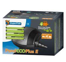 SuperFish Pond Eco Plus E Teichpumpe, niedriger Stromverbrauch versch. Modelle