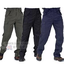 funcional 6 Bolsillo BDU ejército militar Pantalones Cintura Ajustadores