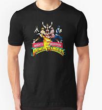 Power rangers t shirt années 1990 super-héros série tv film movie fan cadeau d'anniversaire